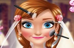 Игра Анна и Свадебный макияж